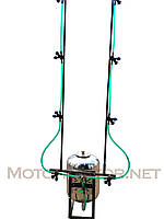 Опрыскиватель для мотоблока (50 л) с компрессором