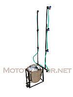 Опрыскиватель для мототрактора нержавейка (50 л) с компрессором