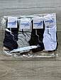 Чоловічі однотонні короткі носки шкарпетки Kardesler з бавовни 40-45 12 шт в уп асорті 4х кольорів, фото 3