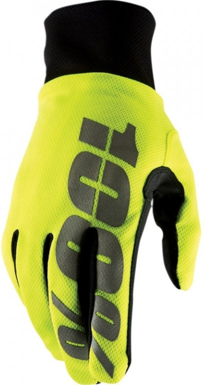 Зимние мотоперчатки Ride 100% Brisker Hydromatic Waterproof Glove [Neon Yellow], XXL (12)