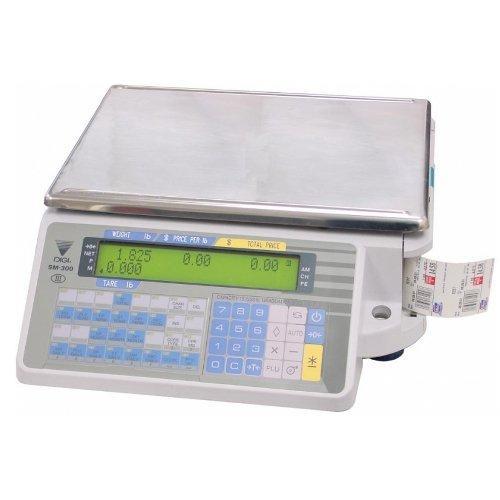 Весы с печатью этикетки Digi SM-300B (без стойки) б/у