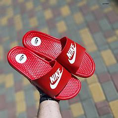 """Сланцы Nike массажные """"Красные"""""""