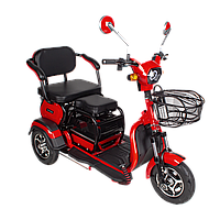 Электрический мопед  AGAMI xk 500W/48V/20AH(DZM) (красный)