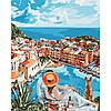 Набір для творчості «Картини за номерами– «Італійська романтика» 40*50см.