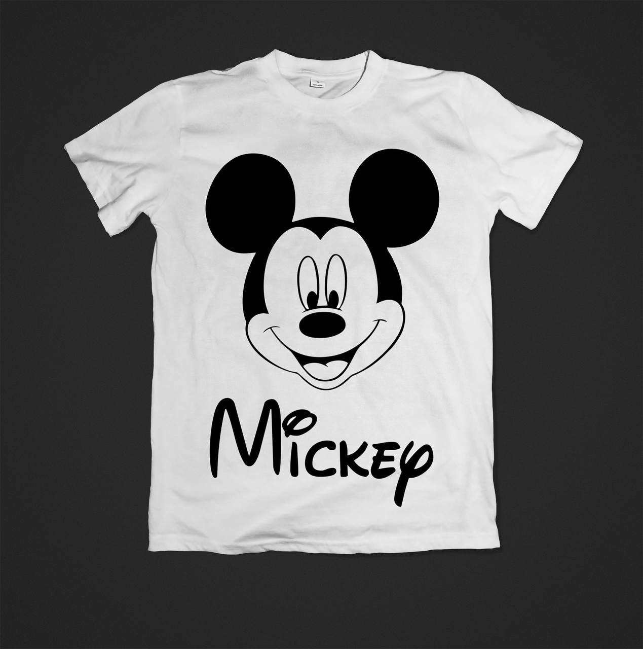 Футболка YOUstyle Mickey Mouse 0474 L White