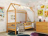 """Кроватка в детскую комнату """"Хатинка Джерри"""" Арбор, фото 8"""