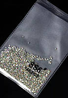 Камни SS6 Crystal AB, аналог Сваровски, упаковка