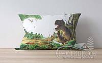 """Детская подушка с фото """"Динозавры 2"""""""