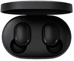 Наушники Xiaomi AirDots Redmi Mi Bluetooth-гарнитура с боксом для зарядки Black (Люкс реплика), фото 2