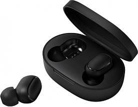 Наушники Xiaomi AirDots Redmi Mi Bluetooth-гарнитура с боксом для зарядки Black (Люкс реплика), фото 3