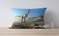 """Детская подушка с фото """"Динозавры 3"""""""