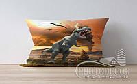 """Детская подушка с фото """"Динозавры 4"""""""