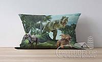 """Детская подушка с фото """"Динозавры"""""""