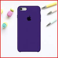 Ультра-фиолетовый силиконовый чехол на iPhone 6/6S