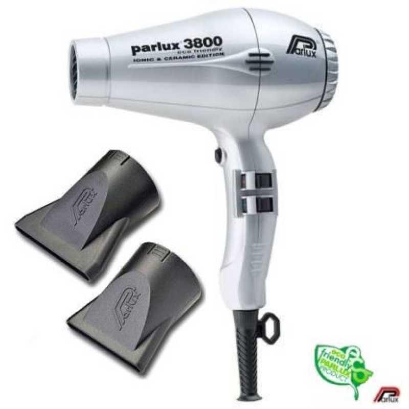 Фен для волос Parlux 3800 EcoFriedly Ceramic & Ionic Gray