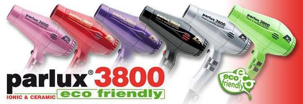 Фен для волос Parlux 3800 EcoFriedly Ceramic & Ionic Gray, фото 3