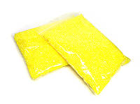 Наполнитель шарики пенопласт желтые 10 000 шт