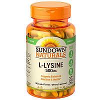 Sundown Naturals L-Lysine 500 mg 100 tab
