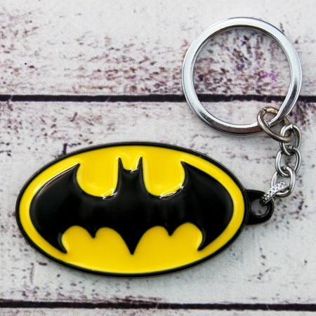 "Брелок ""Бетмен"", металевий, супергерої, Брелок ""Знак Бэтмена"" назавжди"