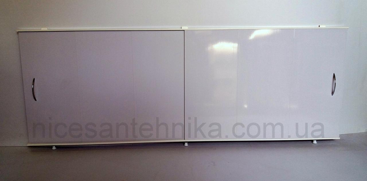 Экран для ванны 100*50 см. см. алюминиевый ЕВА-3
