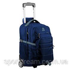 Сумка-рюкзак на колесах Granite Gear Trailster Wheeled 40 Midnight Blue/Rodin