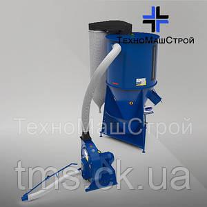 Кормосмеситель КС-600 c зерноизмельчителем KRAFT 7 кВт.