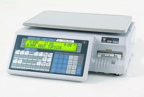 Весы с печатью этикетки Digi SM-500B (без стойки) б/у