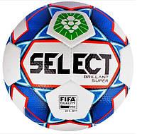 Футбольный мяч SELECT Brillant Super ПФЛ FIFA (Оригинал с голограммой)