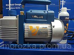 Value VE-115N (1 ступенчатый вакуумный насос, 51 л/мин)