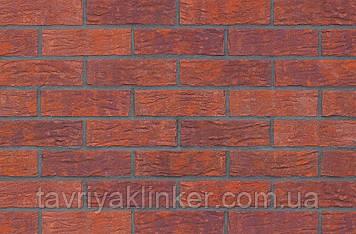 Клинкерная фасадная плитка Deep purple (HF08), 240x71x10 мм