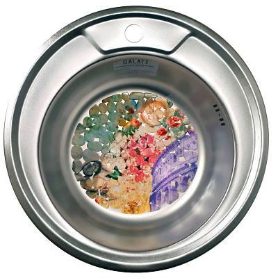 Кухонна мийка стальна Galati Eko Sorin Satin 5486