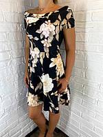 Платье женское черное  Вutterfly ОПТ