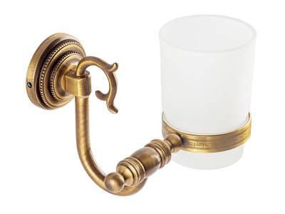 Стакан для зубных щеток, античная бронза KUGU Versace Antique 206A