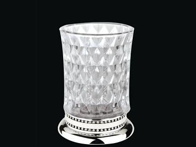 Стакан для зубных щеток KUGU Versace Freestand Glass 850C