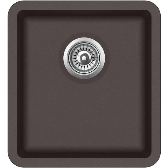 Мойка для кухни гранитная Aquasanita Arca SQA-101W-120 коричневый