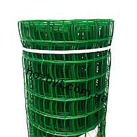 Забор садовый, ячейка 50х50мм. рул. 1х20м. КЛЕВЕР (пластиковый)