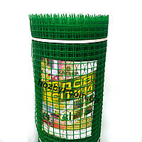 Забор садовый, ячейка 20х20мм. рул. 1х20м. КЛЕВЕР (пластиковый)