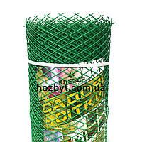 Забор садовый, ячейка (ромб) 20х20мм. рул. 1х20м. КЛЕВЕР (пластиковый)