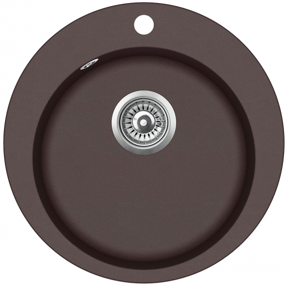 Мойка для кухни гранитная Aquasanita Clarus SR-100W-120 коричневый