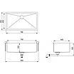 Мойка для кухни Aquasanita Enna ENN-100B, фото 2