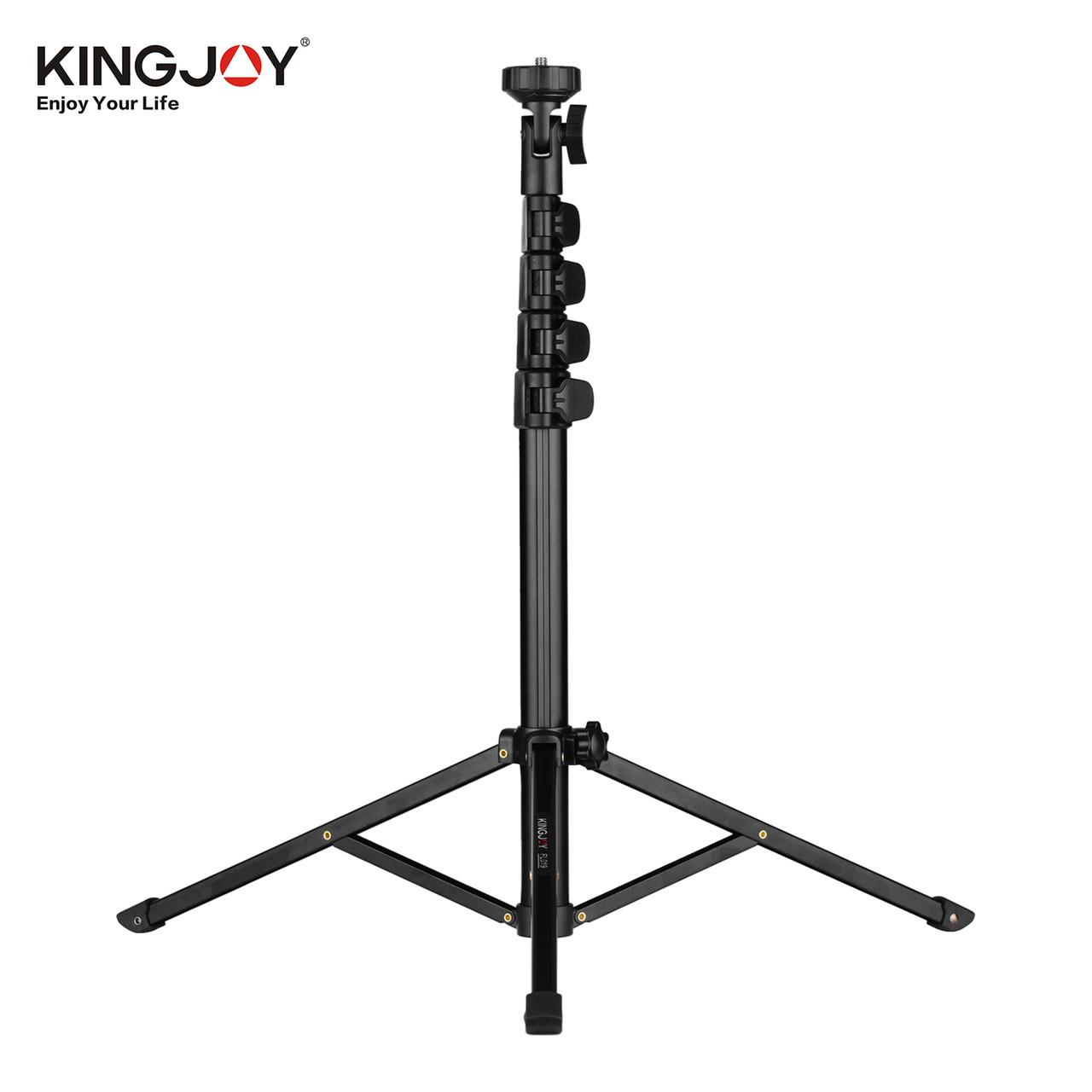 Багатофункціональна студійна стійка / штатив / тринога Kingjoy FL019 для телефону, камер, світла.