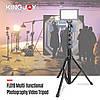 Багатофункціональна студійна стійка / штатив / тринога Kingjoy FL019 для телефону, камер, світла., фото 4