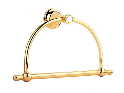 Кільце для рушника, золото KUGU Bavaria 304G
