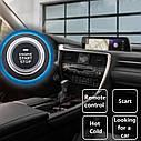 Автосигнализация c бесключевым доступом, кнопкой старт стоп,  бесключевая система запуска двигателя, фото 9
