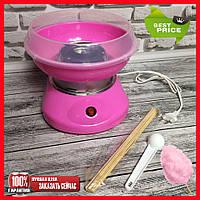 Аппарат для приготовления сладкой ваты Cotton Candy Maker (средний размер)! Скидка