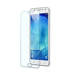 Защитное стекло Tempered Glass для Samsung Galaxy J7 (j700) твердость 9H, 2.5D