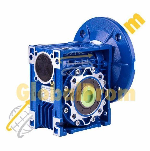 Червячный мотор-редуктор бесшумный NMRV-075
