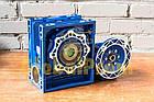 Червячный мотор-редуктор бесшумный NMRV-075, фото 3