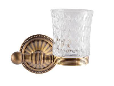Стакан для зубных щеток, античная бронза KUGU Hestia antique 906A
