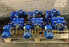 Червячный мотор-редуктор бесшумный NMRV-075, фото 4